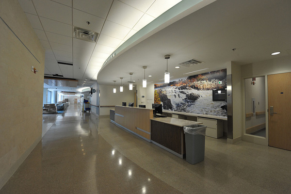 Hospitals – Reception Area