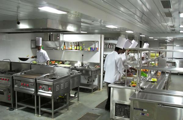 Kitchen with Chefs